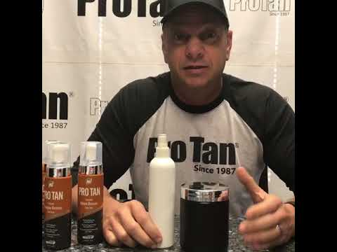 Pro Tan: Darker doesn't mean better…See Video From Mr.Pro Tan