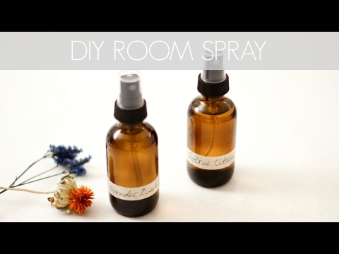DIY ESSENTIAL OIL ROOM SPRAYS || Katie Bookser