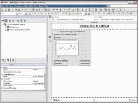 IBM Cognos Business Intelligence Statistics Demo posted by nexDimension Technology Solutions