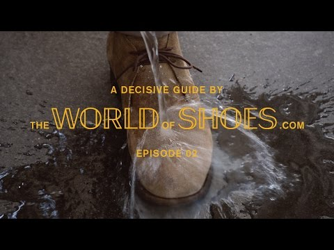 How to Clean Suede Shoes - The World of Shoes