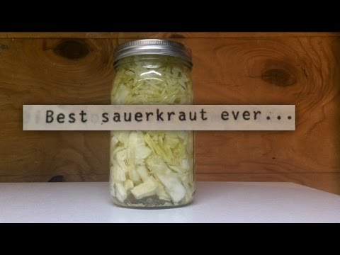 Fermented Sauerkraut | our old family recipe