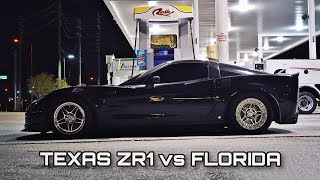 1100hp nitrous ZR1 vs EVERYTHING on the STREET! Built GT-R, big turbo Supra, TT Mustangs & MORE!