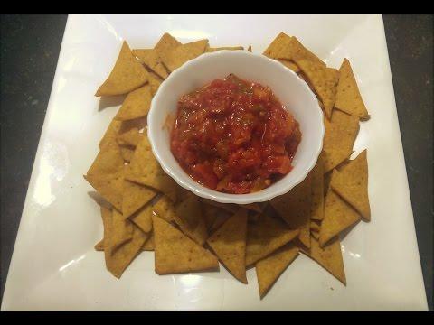 How to make Nachos with Salsa Dip Recipe/Homemade and easy to make recipe#161