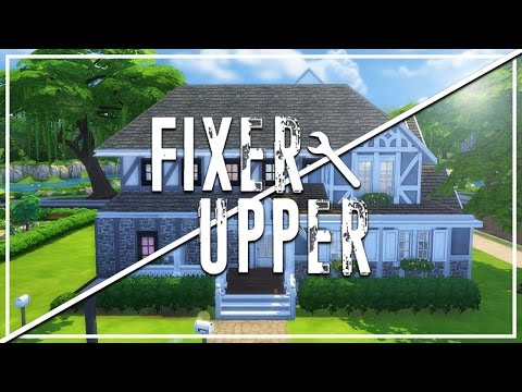 THE TRASH HOUSE // The Sims 4: Fixer Upper - Home Renovation (First Episode)