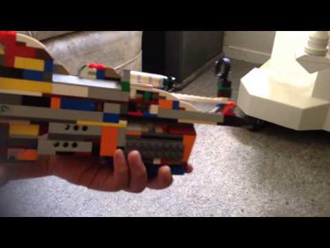 Building the Lego ray gun mark 2