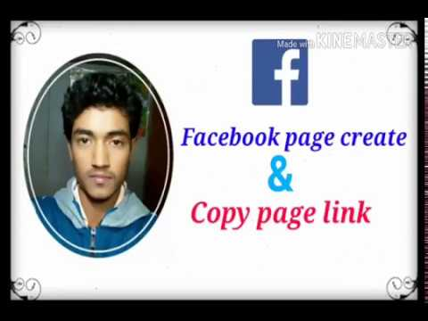 How to create Facebook page and copy page link.