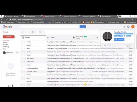 change primary email address on gmail and add alternative another mail address
