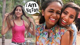 Annu Singh Vlog No'15 | Tik Tok special fans Vlog video | live prank on camera Mumbai girl | BrbDop