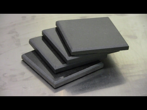 How to make granite coasters