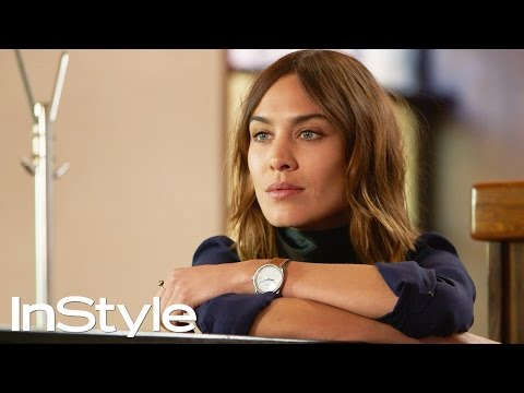 Alexa Chung Channels Annie Hall in Spring Fashion Shoot | InStyle