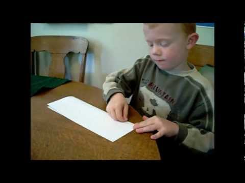 Fast and Easy Paper Airplane for Kids by Kids