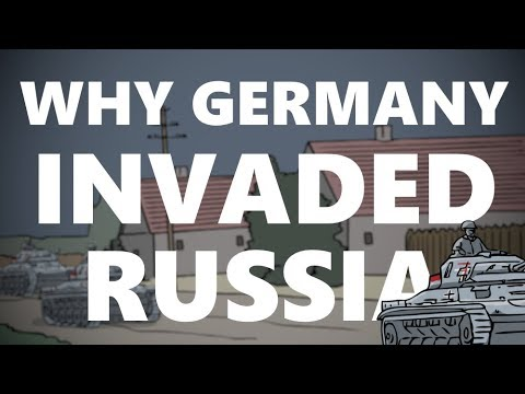 Why did Germany Invade the Soviet Union? | Animated History