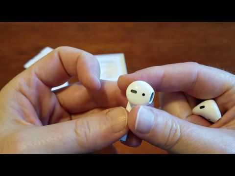 Apple AirPods unboxing!