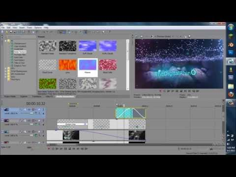 How to Make a Professional Underwater Intro in Sony Vegas Pro 13/12