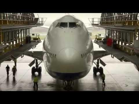 British Airways Boeing 747-400 in D-Check