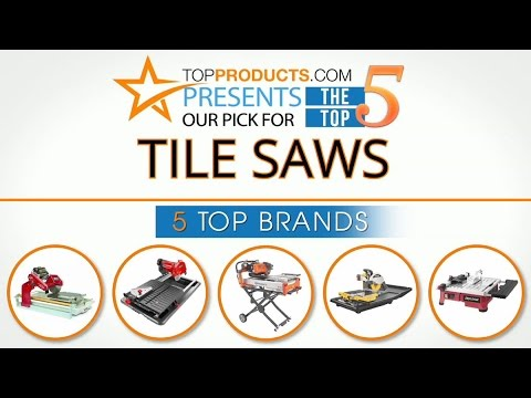 Best Tile Saw Reviews 2017 – How to Choose the Best Tile Saw