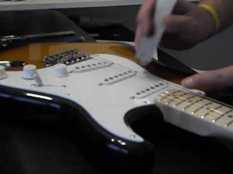 How to properly set the height of your guitar pickups.