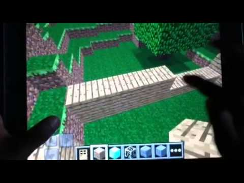 Minecraft Pocket Edition iPad house tour