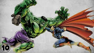 Top 10 Biggest Superhero Fights Of All Time