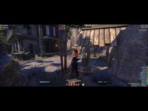 Elder Scrolls Online: Dragon Bones PTS: Stamblade Bow Build 38k dps