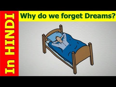 Why Do We Forget Our Dreams? - In Hindi