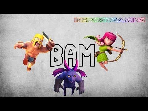 Clash of Clans Farming Tutorial - BAM (Barbs, Archers, Minions) Tutorial