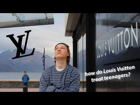 fashion ignorant 18 year old, in Queenstown's Louis Vuitton