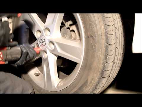 Rear Brake Replacement Toyota