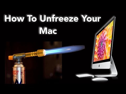 How To Unfreeze Your Mac