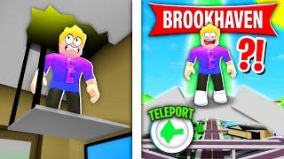 Geheimes SECRET TELEPORTIERT dich in BROOKHAVEN! *NEU* 😨 (Roblox Brookhaven 🏡RP | Story Deutsch)