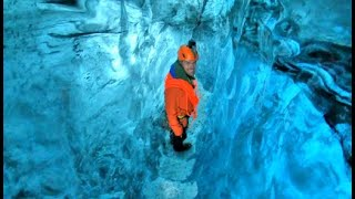Walking Through An Ancient Ice Cave