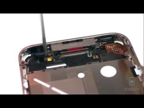 Charging Dock Port & Microphone Repair - iPhone 4 How to Tutorial