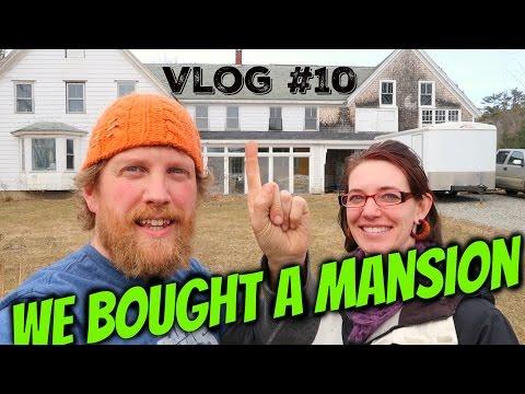 Goodbye Off Grid Yurt, We Bought a Mansion ! Vlog #10