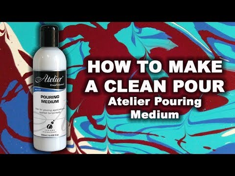 How To Make A Clean Acrylic Pour