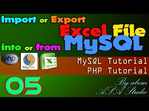 Import or Export Excel File into or from MySQL, 5, Formating MySQL Data, Excel PHP Tutorial