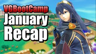 Smash Bros Ultimate January Recap Highlights