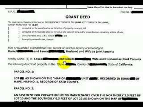 Grant Deed