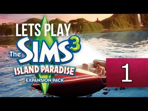 Let's Play: The Sims 3 Island Paradise - [Part 1] - Create-A-Sim