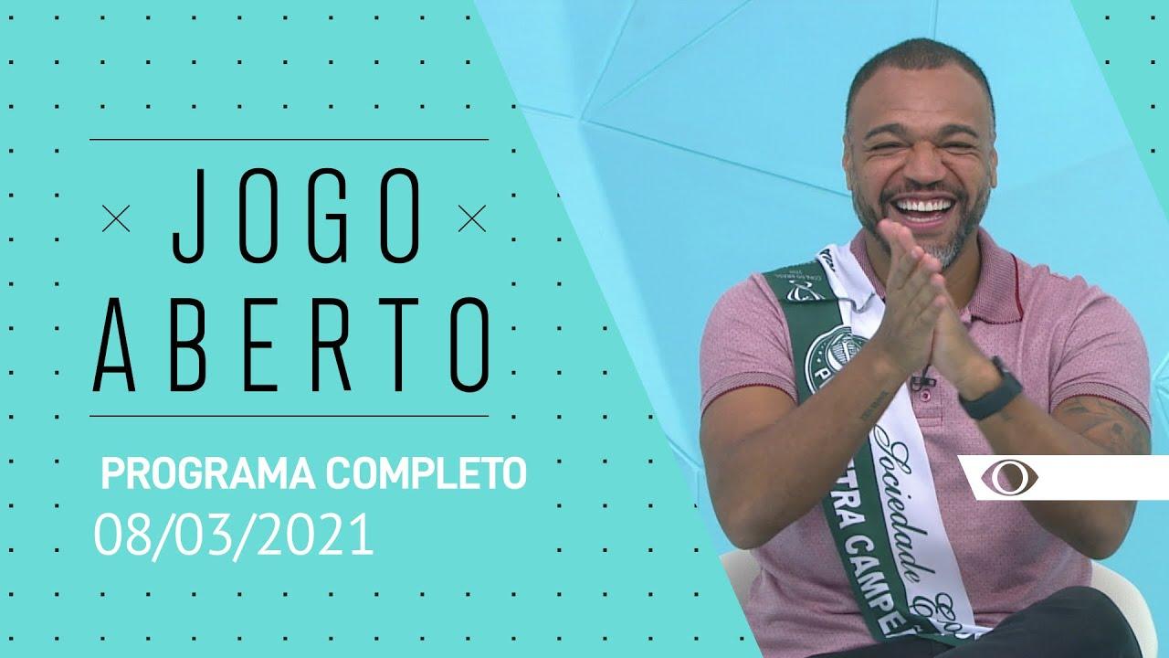 JOGO ABERTO - 08/03/2021 - PROGRAMA COMPLETO