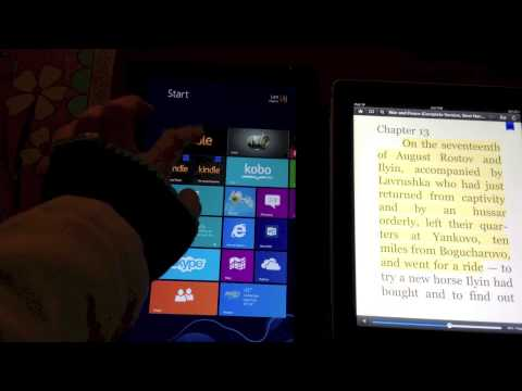 Microsoft Surface Review: Reading Kindle Content