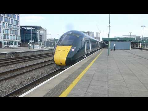Cardiff Central trains May 21st 2018