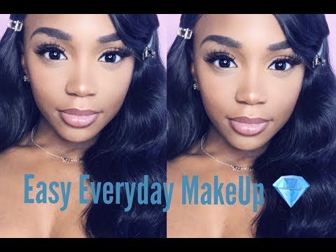 Easy everyday make up routine using drug store products