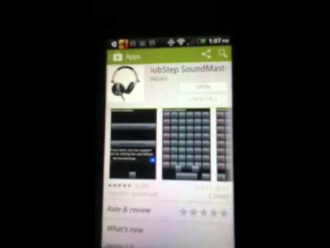 How to make Dubstep on android phones