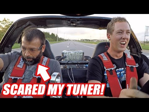Supercharging Leroy Ep.5 - IT'S SCARY FAST! (first drive)