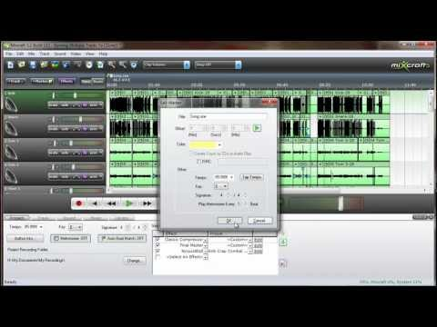 Mixcraft Mini Tip - Burn Multiple Tracks To CD From A Single Project