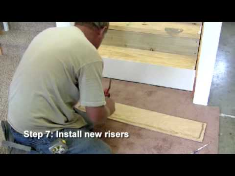 RetroTread® Installation - Closed Stairway - Young Manufacturing