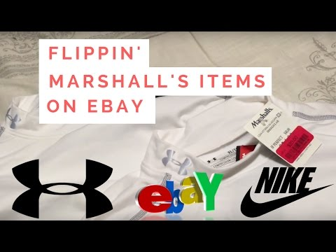 My Marshall's Haul Flipping Items for eBay Resell