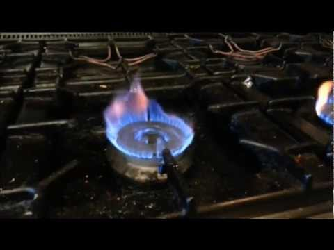 restaurant cooker burner jets need to be cleaned