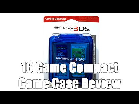 Official Nintendo 3DS Compact 16 Game Case Review