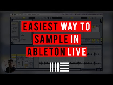 EASIEST Way To Sample in Ableton Live | #FigureItOut